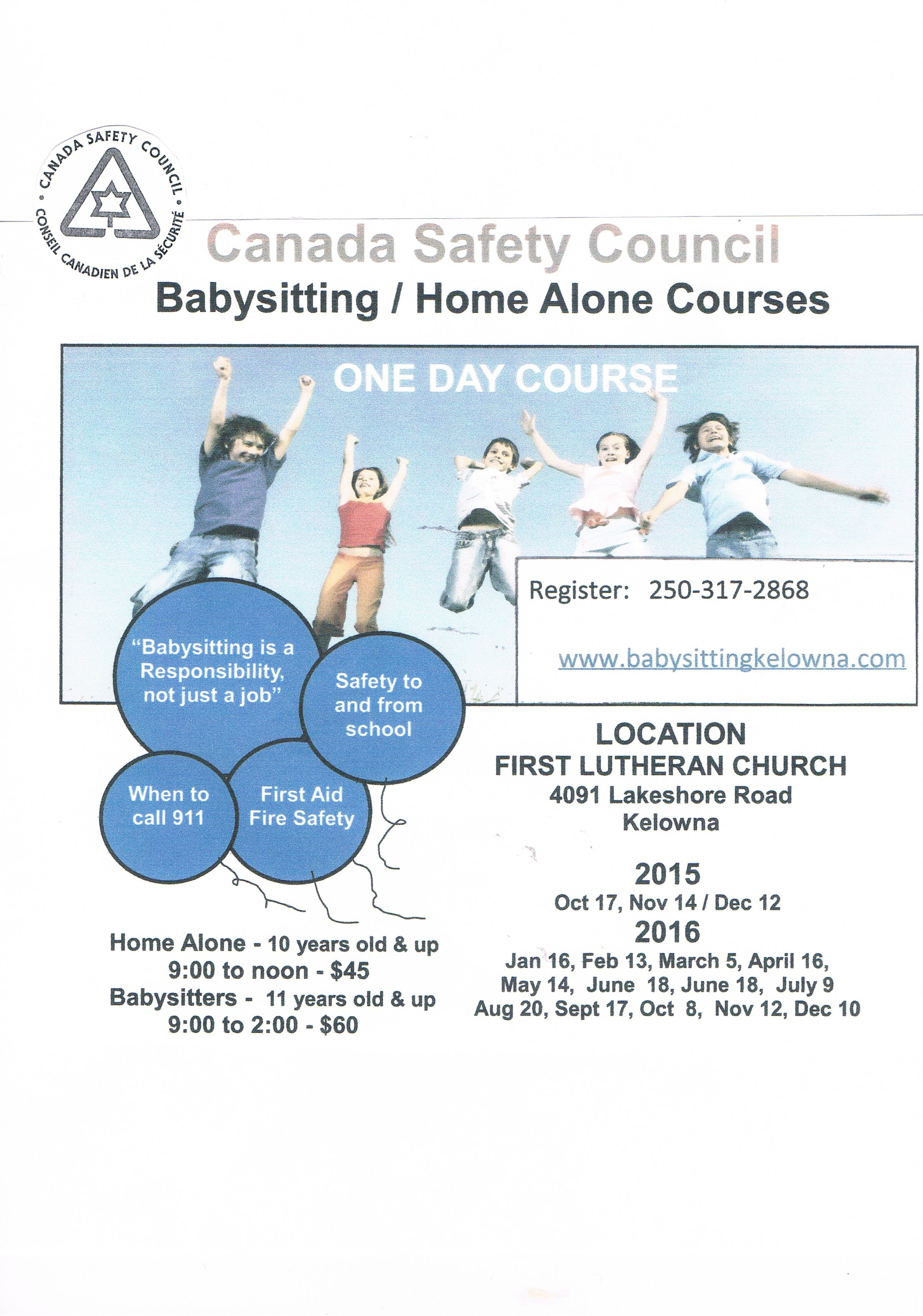 news archive okanagan mission secondary safety council babysitter and home alone poster revised jpg
